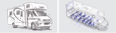 Equipe de Engenharia dedica à pesquisa e desenvolvimento de produtos